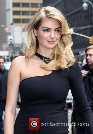 Kate Upton - Swimwear Models on Letterman