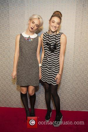 Elle Dee and Mia Moretti - Alice and Olivia - Presentation at New York Fashion Week - New York City,...