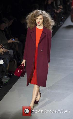Model - New York Fashion week Marc Jacobs runway at New York Fashion Week - New York City, New York,...