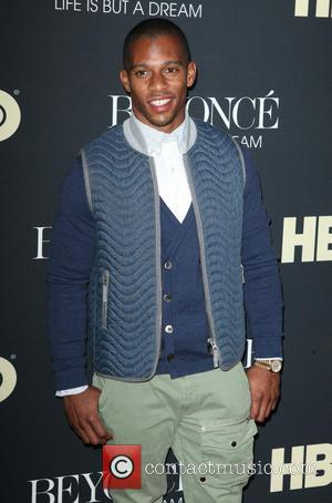 Victor Cruz - 'Beyonce: Life Is But A Dream' New York Premiere at Ziegfeld Theater at The Ziegfeld Theatre 54th...