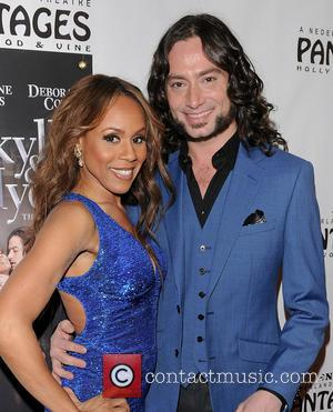 Deborah Cox and Constantine Maroulis - Jekyll and Hyde premiere - Hollywood, California, USA - Tuesday 12th February 2013