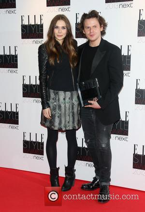 Elizabeth Olsen and Christopher Kane - Elle Style Awards Press Room - London, United Kingdom - Tuesday 12th February 2013