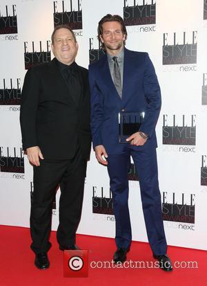 Harvey Weinstein and Bradley Cooper