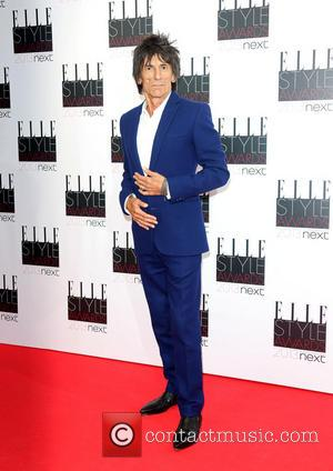 Ronnie Wood - The Elle Style Awards 2013