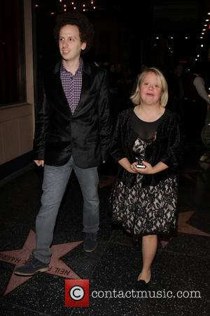 Josh Sussman and Lauren Potter - LA Premiere of 'Jekyll and Hyde' Departures - Los Angeles, California, United States -...