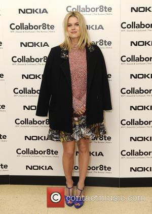 Alice Eve - Collabor8te Connected by NOKIA Premiere - London, United Kingdom - Tuesday 12th February 2013