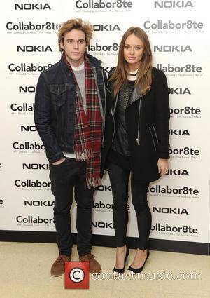 Laura Haddock and Sam Claflin