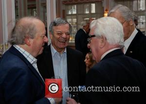Tony Blackburn, John Sergeant, Barry Cryer and Nicholas Parsons - 'Oldie of the Year Awards' - Inside - London, United...
