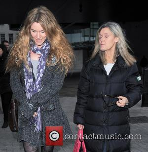 Joss Stone - Celebrities are seen leaving Radio 1 BBC Studios - London, United Kingdom - Tuesday 12th February 2013