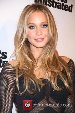 Hannah Davis - Sports Illustrated 2013 Swimsuit edition Model launch party at Crimosn - New York, NY, United States -...