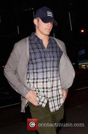 Alexander Ludwig - Celebrities outside BOA Steakhouse in West Hollywood - Los Angeles, California, United States - Tuesday 12th February...