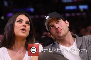 Ashton Kutcher, Staples Center, Mila Kunis