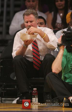 Will Ferrell - Celebrities watch the LA Lakers vs. Phoenix...