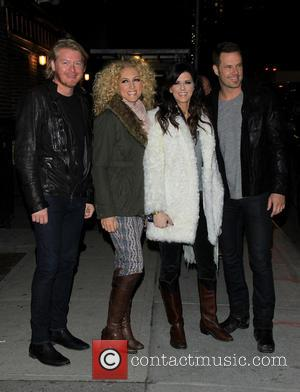 Little Big Town - Late Show Celebs at Ed Sullivan Theatre - New York City, NY, USA - Tuesday 12th...