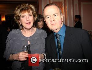 Lucinda Lambton and Ian Hislop