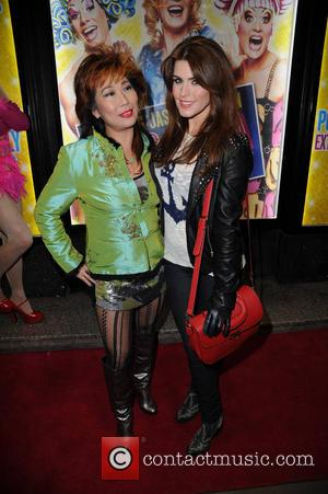 Goldie Cheung and Carolynne Poole - Priscilla Queen Of The Desert - Press Night - Manchester, United Kingdom - Tuesday...