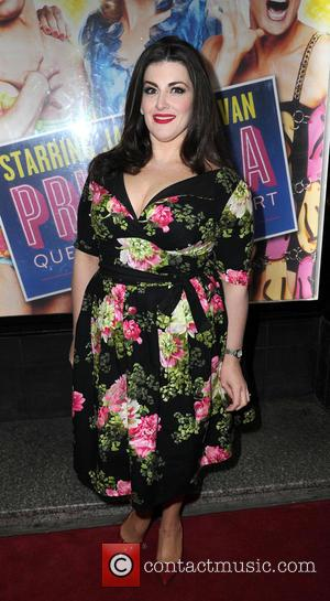 Jodie Prenger - Priscilla Queen Of The Desert - Press Night - Manchester, United Kingdom - Tuesday 12th February 2013