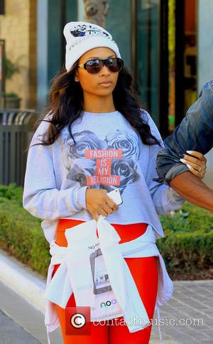 Ciara - Ciara and her boyfriend go shopping at the Grove - Hollywood, California, USA - Wednesday 13th February 2013