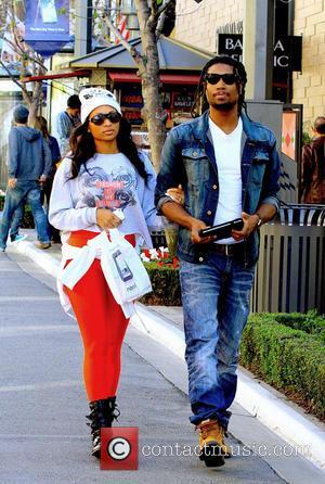Ciara, Future and Nayvadius Cash - Ciara and her boyfriend go shopping at the Grove - Hollywood, California, USA -...