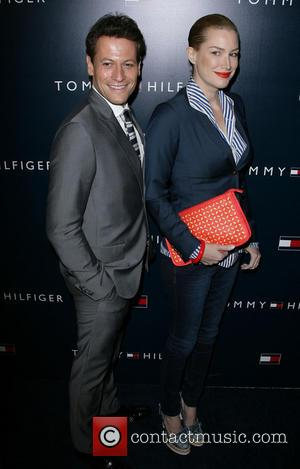 Ioan Gruffudd and Alice Evans - Tommy Hilfiger store opening - West Hollywood, California, United States - Wednesday 13th February...