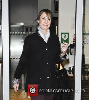 Alex Jones - Celebrities leaving BBC Radio 2 - London, United Kingdom - Wednesday 13th February 2013