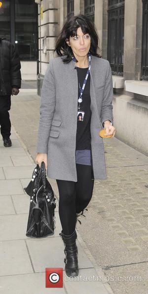 Claudia Winkleman - Celebrities leaving BBC Radio 2 - London, United Kingdom - Wednesday 13th February 2013