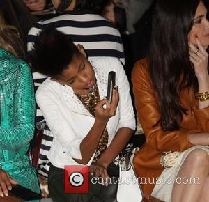 Willow Smith - Mercedes-Benz New York Fashion Week Autumn/Winter 2013 - Michael Kors - Front Row at New York Fashion...