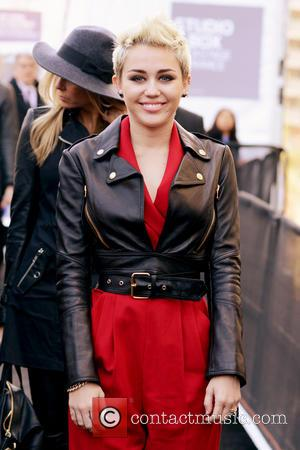 Miley Cyrus - Mercedes-Benz New York Fashion Week Spring/Summer 2013 - Rachel Zoe - Departures at New York Fashion Week...