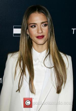 Jessica Alba - Tommy Hilfiger store opening - West Hollywood, California, United States - Wednesday 13th February 2013