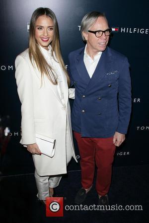 Jessica Alba and Tommy Hilfiger