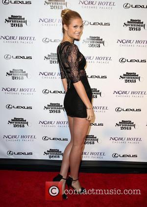 Kate Bock - Sports Illustrated 2013 Swimsuit Models at Caesars Palace - Las Vegas, NV, United States - Wednesday 13th...