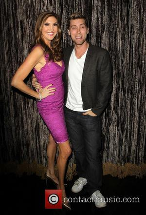 Heather Mcdonald and Lance Bass