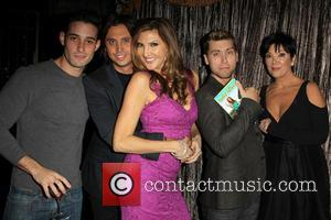 Jonathan Cheban, Heather Mcdonald, Lance Bass and Kris Jenner