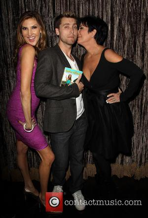 Lance Bass, Heather Mcdonald and Kris Jenner
