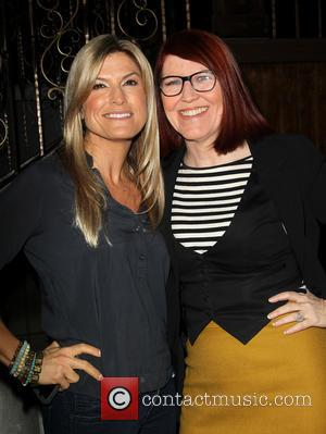 Trish Suhr and Kate Flannery