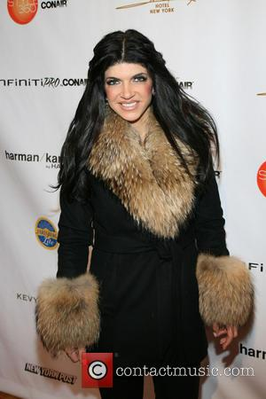 Teresa Giudice - Mercedes-Benz New York Fashion Week Autumn/Winter 2013 - Boy Meets Girl By Stacy Igel  - Arrivals...