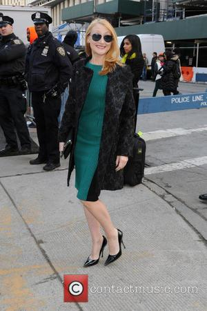 Patricia Clarkson - Mercedes-Benz New York Fashion Week Autumn/Winter 2013 - Lincoln Center - Celebrity Sightings at New York Fashion...