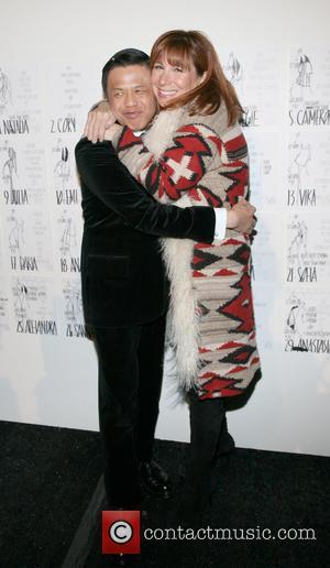 Zang Toi and Jill Zarin