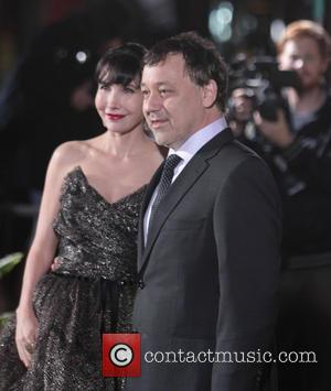 Sam Raimi and Gillian Greene - Los Angeles Premiere of