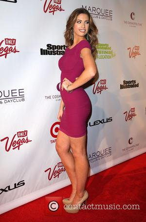 Katherine Webb - Sports Illustrated 2013 Swimsuit Models at Marquee Nightclub at The Cosmopolitan - Las Vegas, Nevada, United States...
