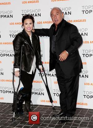 Demi Lovato and Sir Philip Green