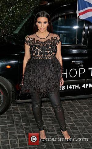 Kim Kardashian - Topshop Topman LA opening party