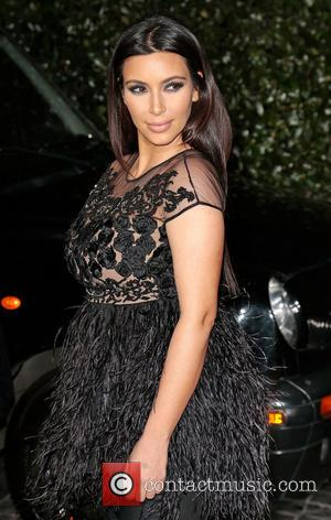 Kim Kardashian, Nude Dress, Topshop Opening