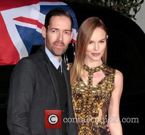 Michael Polish and Kate Bosworth - Topshop Topman LA opening party - West Hollywood, California, United States - Wednesday 13th...