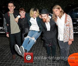 Musical group Grouplove - Topshop Topman LA Opening Party - West Hollywood, California, United States - Wednesday 13th February 2013