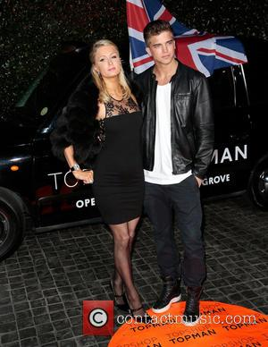 Paris Hilton and River Viiperi - Topshop Topman LA Opening Party - West Hollywood, California, United States - Wednesday 13th...