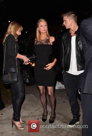 Paris Hilton and River Viiperi - Topshop Topman LA Opening Party held at Cecconi' - West Hollywood, California, United States...