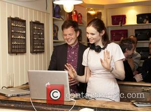 Richard Jones and Sophie Ellis Bextor - The Cambridge Satchel Company Covent Garden store launch - London, United Kingdom -...