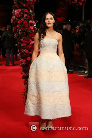 Jessica Brown Findlay - A New York Winter's Tale premiere held at Odeon Kensington - Arrivals - London, United Kingdom...