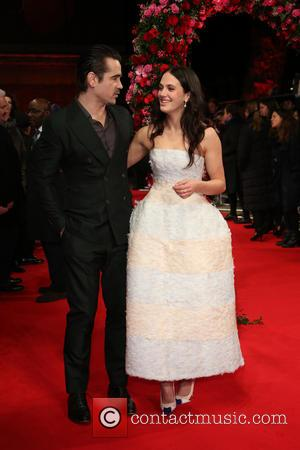 Jessica Brown Findlay and Colin Farrell - A New York Winter's Tale premiere held at Odeon Kensington - Arrivals -...